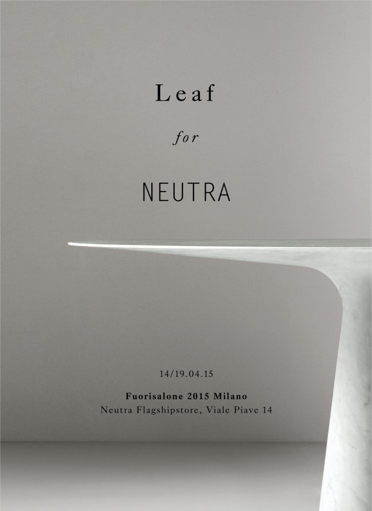 2018-04_News_Salone_Neutra Leaf